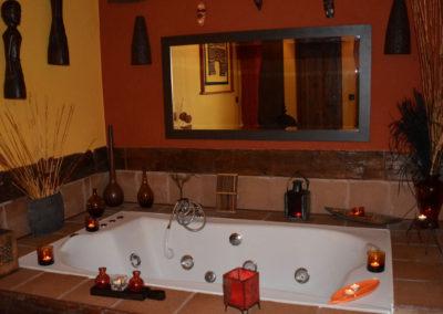 Jacuzzi suite relax La Barcena
