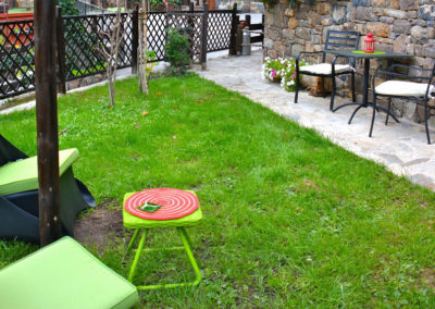 AP.7 Suite jardín extra Jacuzzi redondo